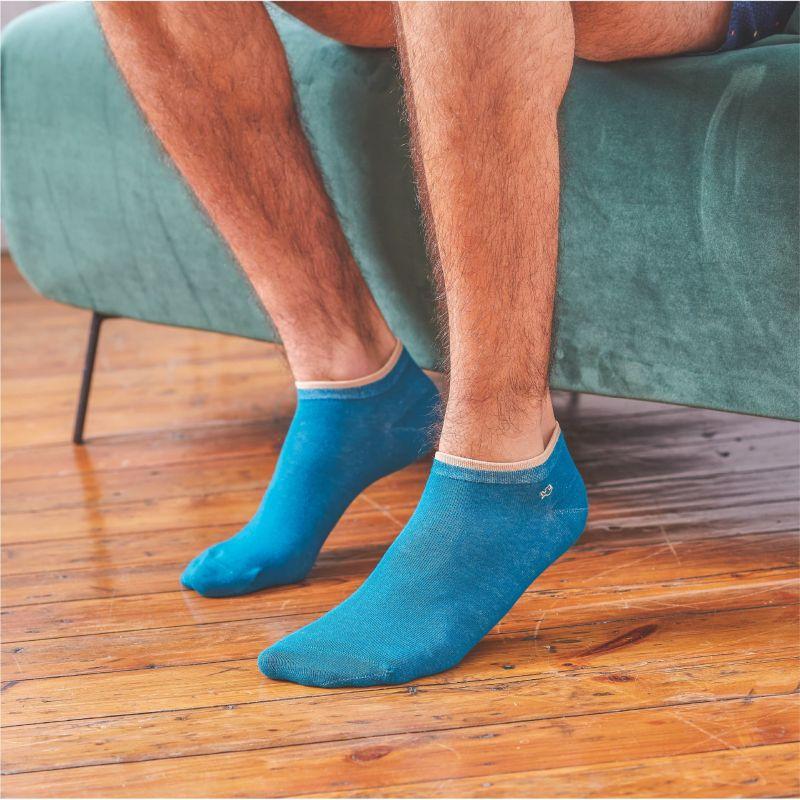 Plain Opal ankle socks