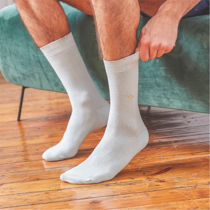 Cotton Socks Water Green