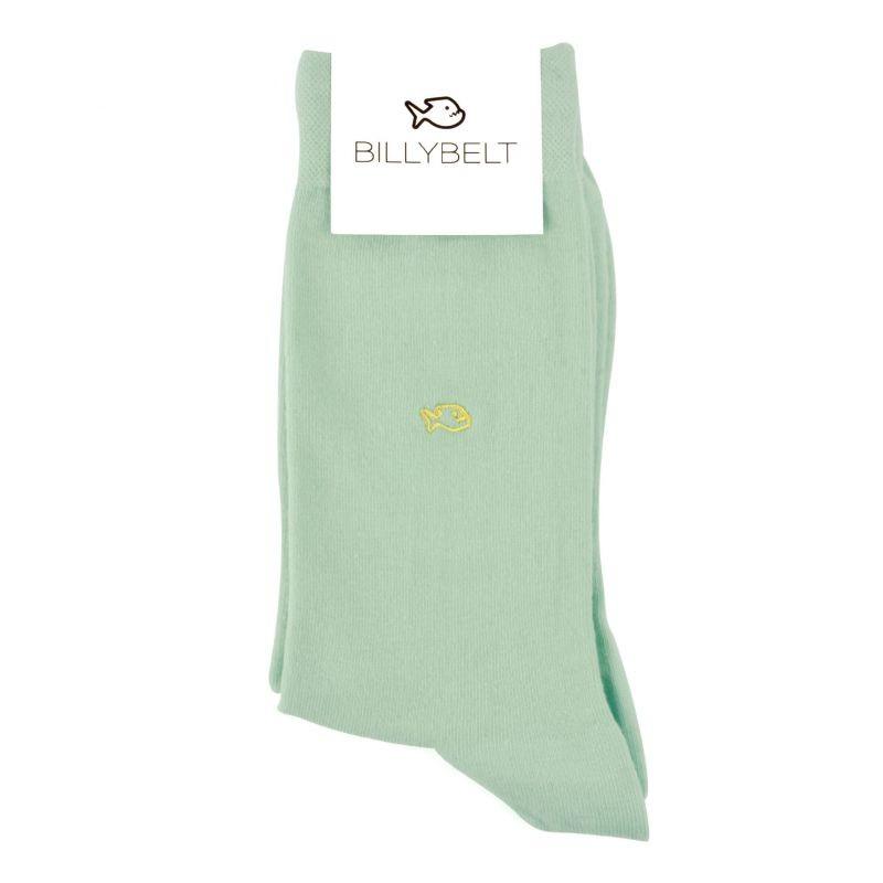 Chaussettes coton Vert d'eau
