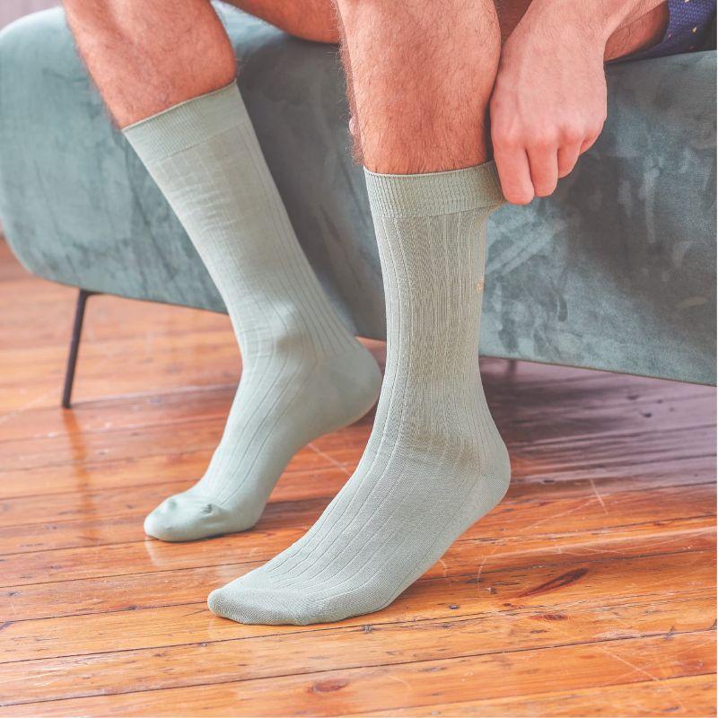 Lisle socks Pale Green