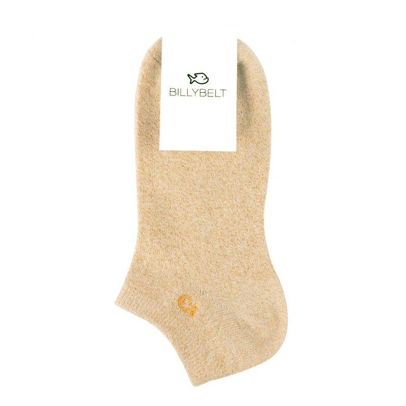 Socquettes coton Beige