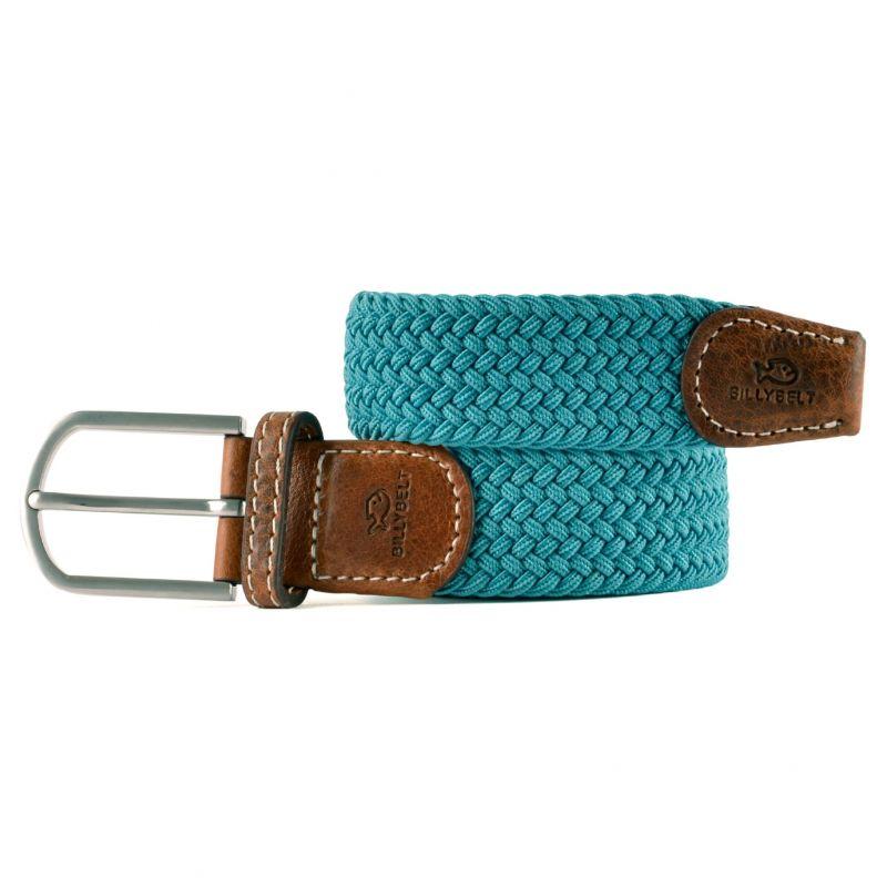 Elastic woven belt Green jade