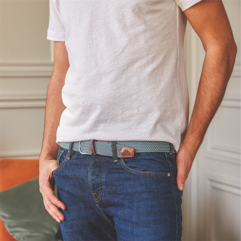 Elastic woven belt The Belem