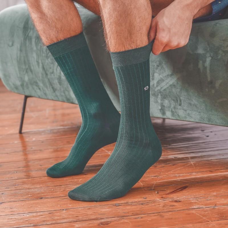 copy of Lisle socks Pale Green