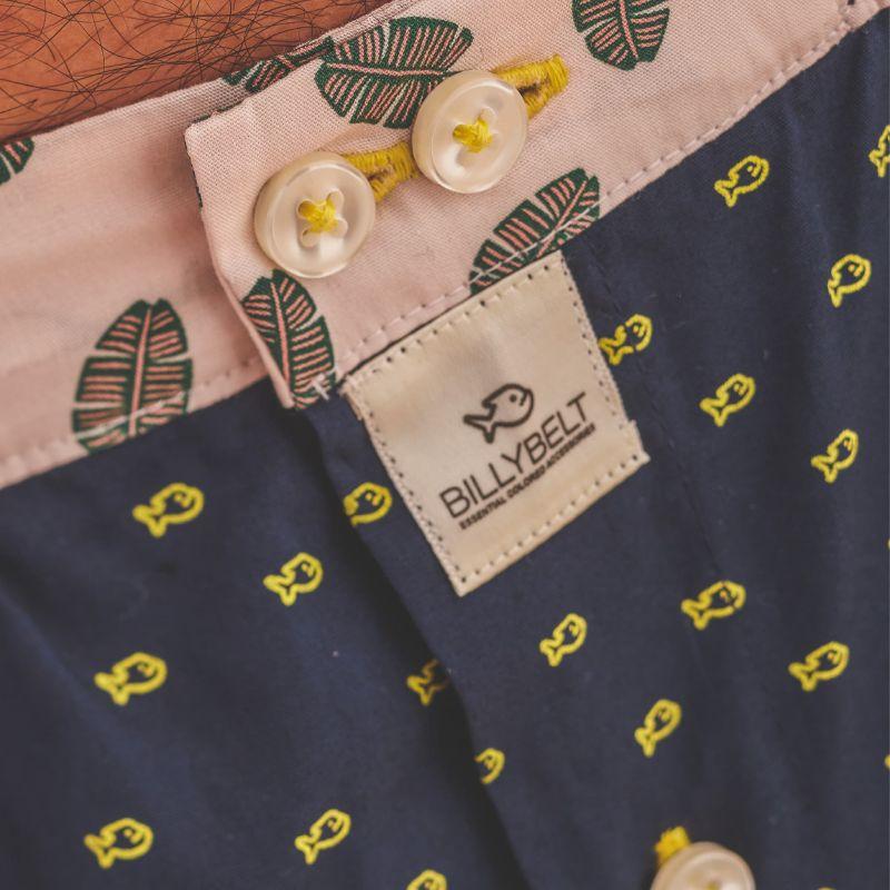 Organic cotton boxer shorts New Billy Navy
