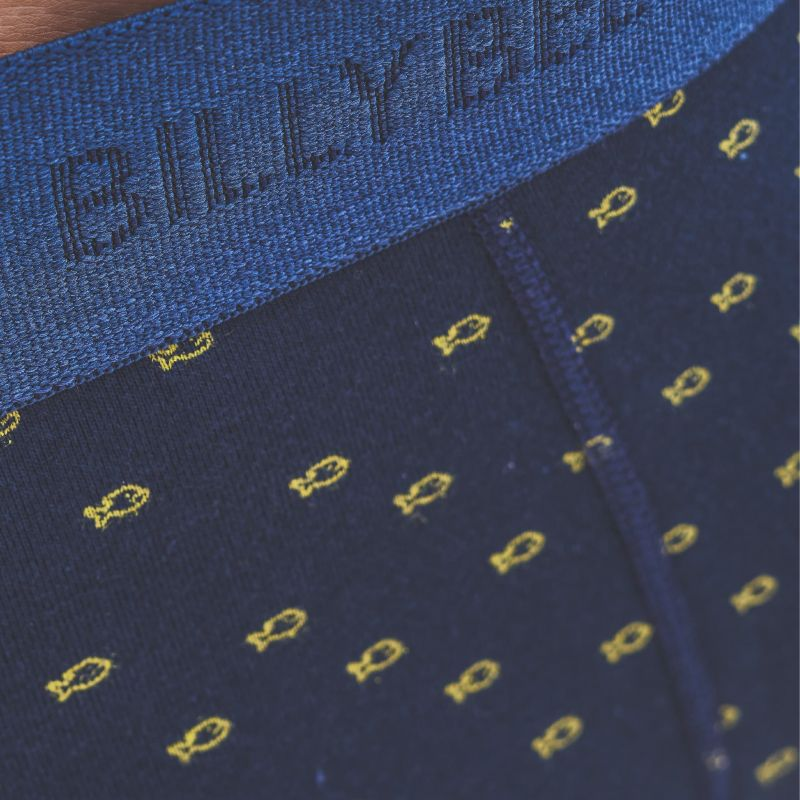 Boxer coton bio Billy Yellow