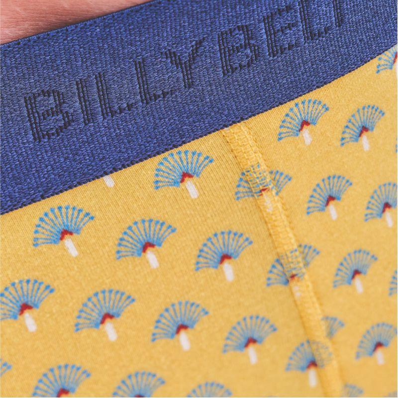 Boxer coton bio Yellow moderna