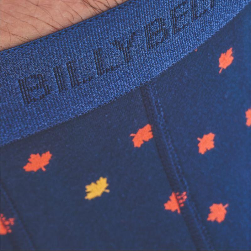 Boxer coton bio Blue mapple