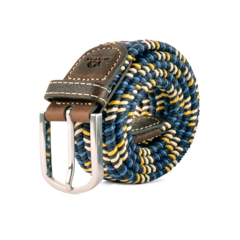 Elastic waxed cotton belt - Ross