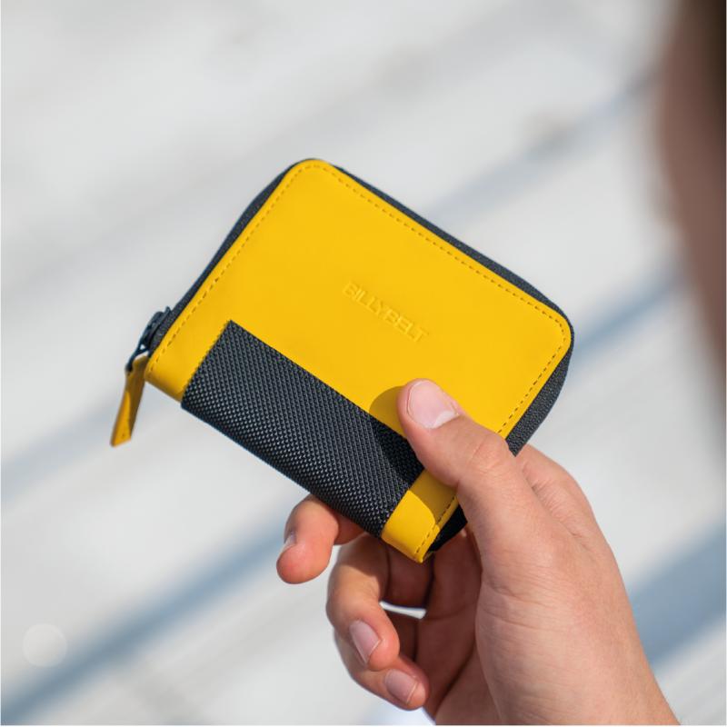 PU Small Wallet - Yellow