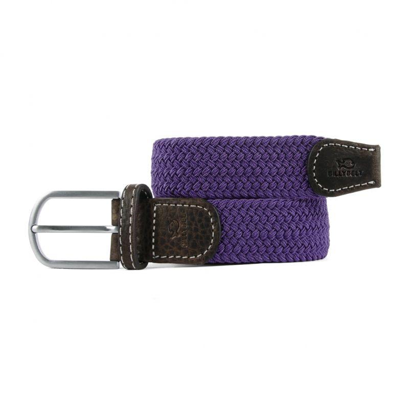 Elastic woven belt Amethyst