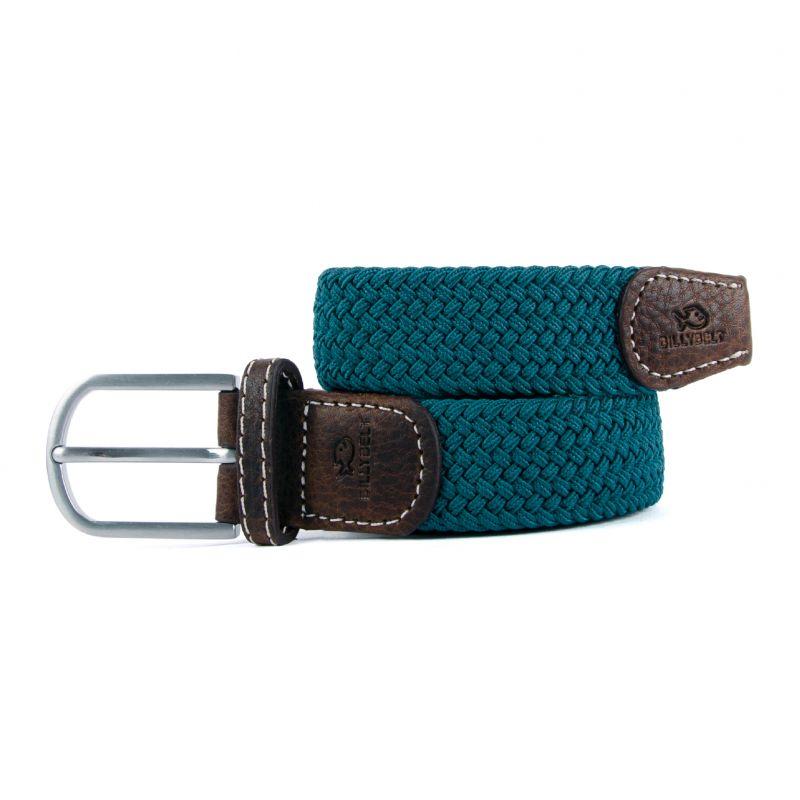 Elastic woven belt Scarabed Blue