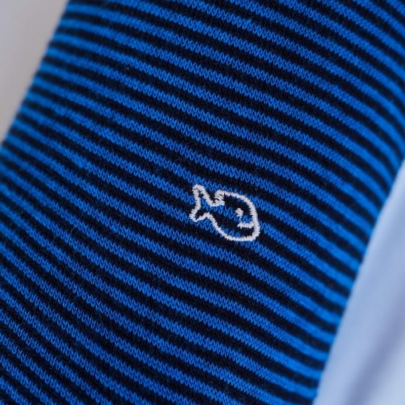 Chaussettes rayées en coton Séoul