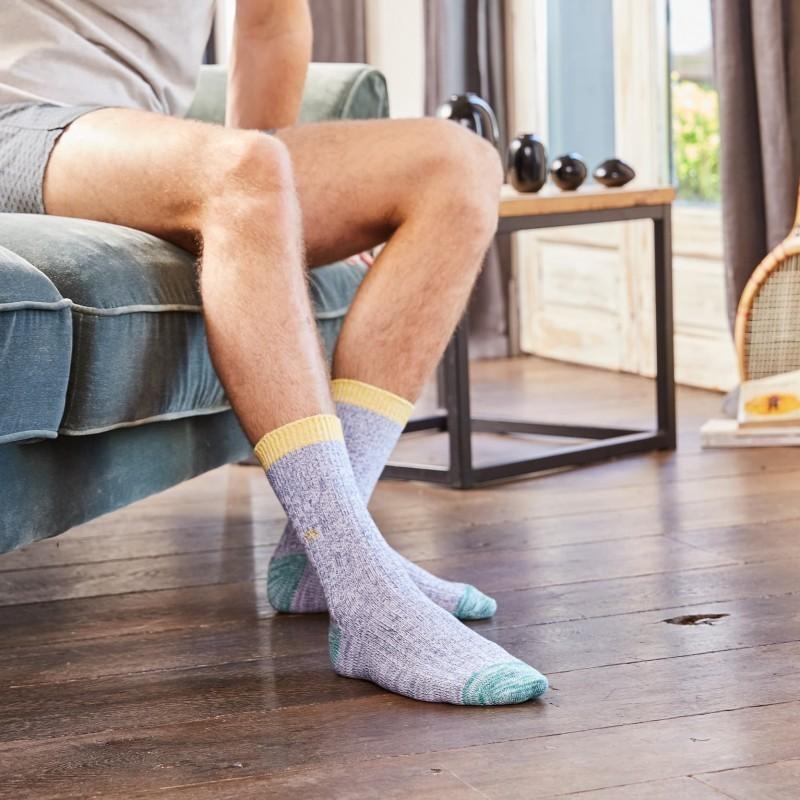 Chaussettes coton épais La Printanière