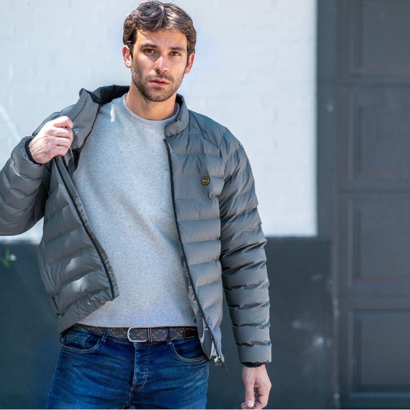 Down jacket - Titanium