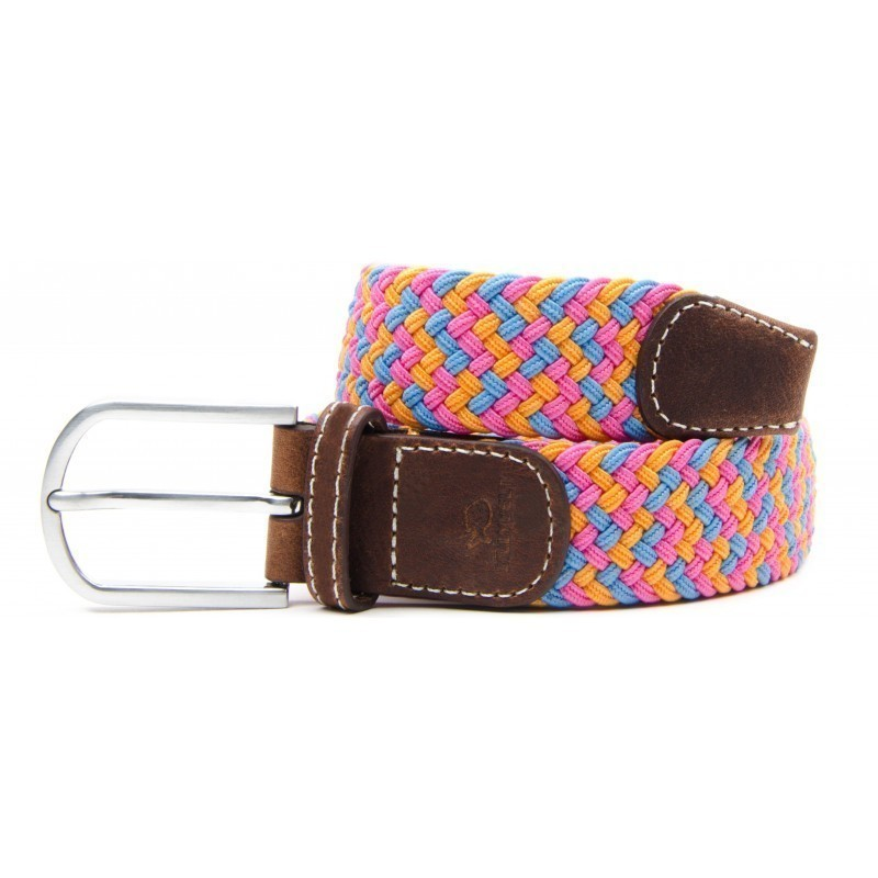 San Francisco braided belt for men