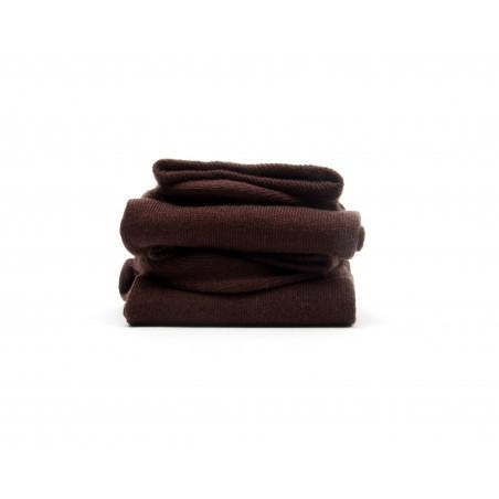 Chaussettes Chocolat homme remaillées main