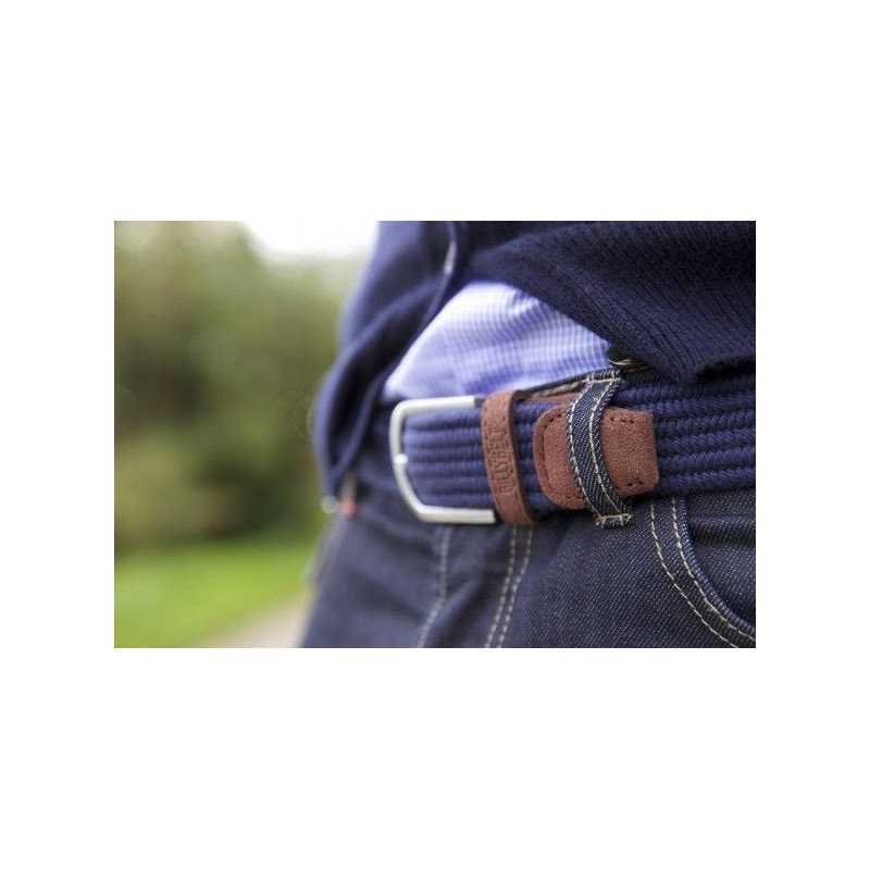 Elastic woven belt  The Club Royal Blue