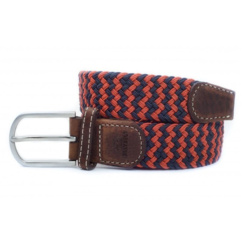 elastic woven belt orange