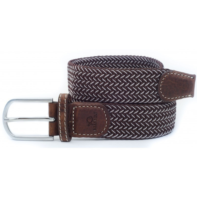 Olive green braided belt