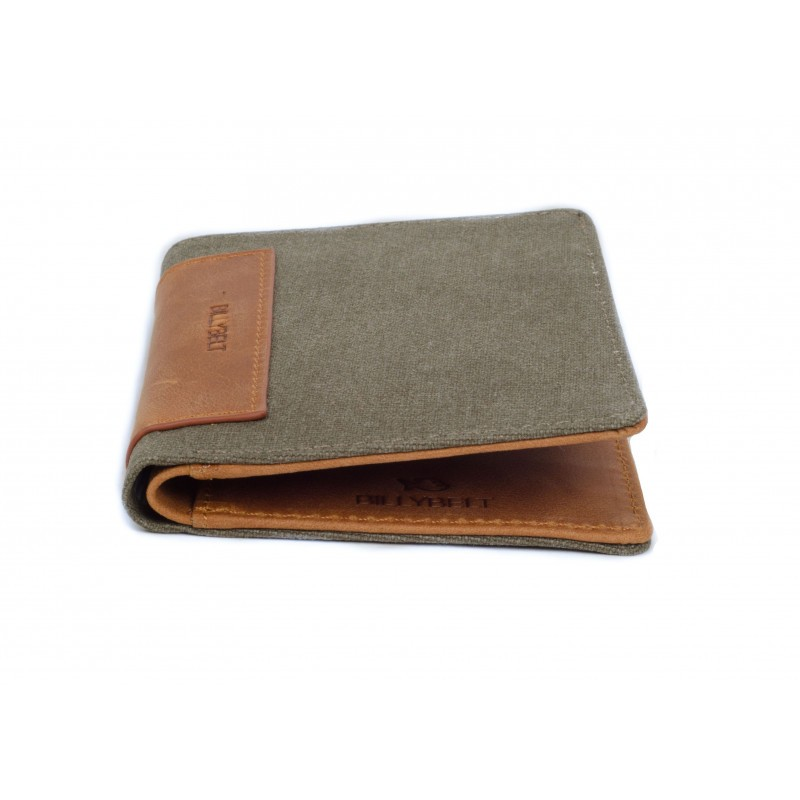 Portefeuille Taupe homme
