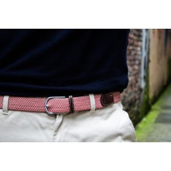 The Buenos Aires braided belt for men