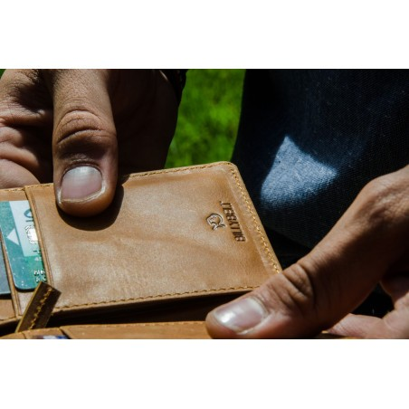 Porte-cartes Olive homme