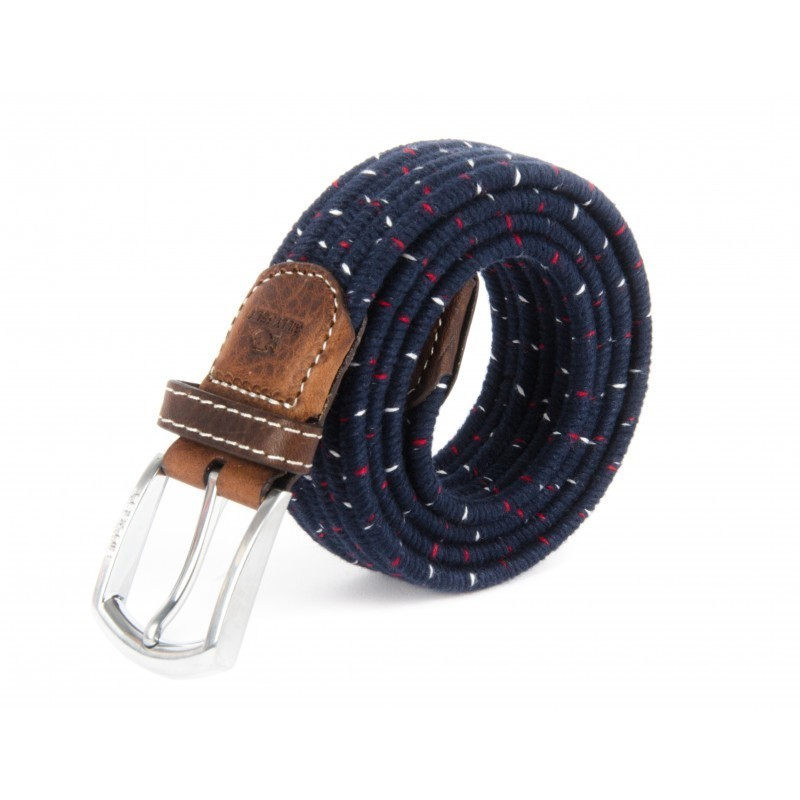 Grenadine wool braided belt