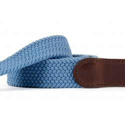 Leather belt elastic weave  The Trendy Air Force
