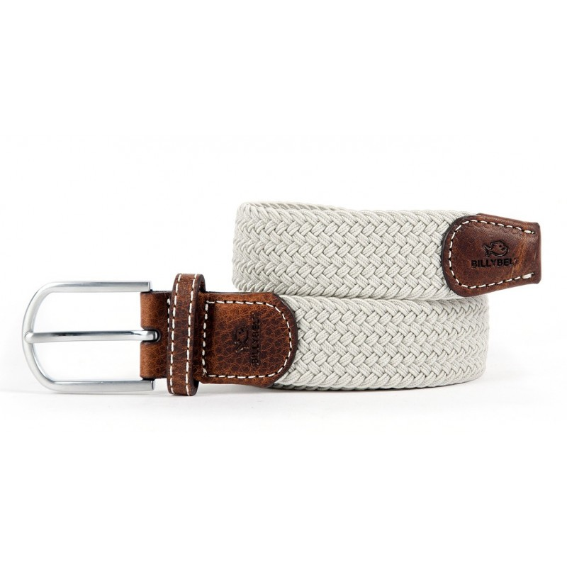 Grey Seagull braided belt for men