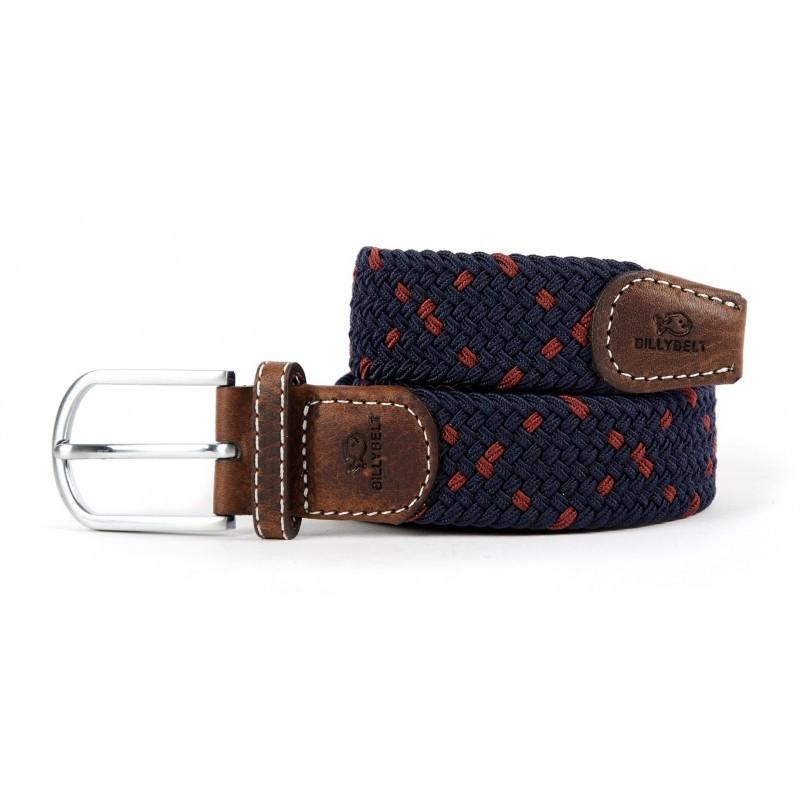 elastic woven belt navy