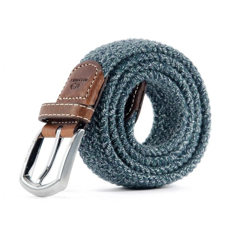 Tweed Club braided belt