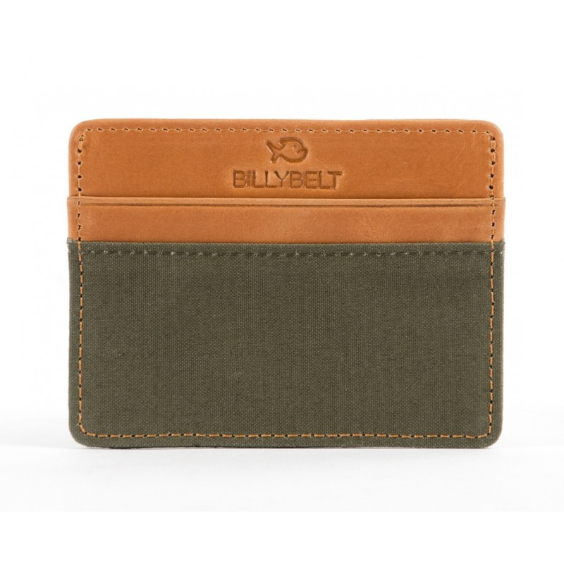 Khaki card holder
