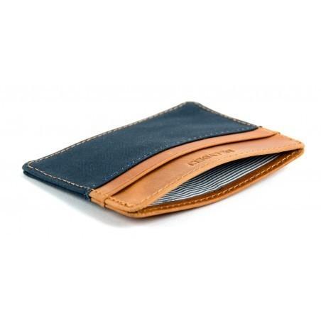 Porte-cartes Slim Bleu homme