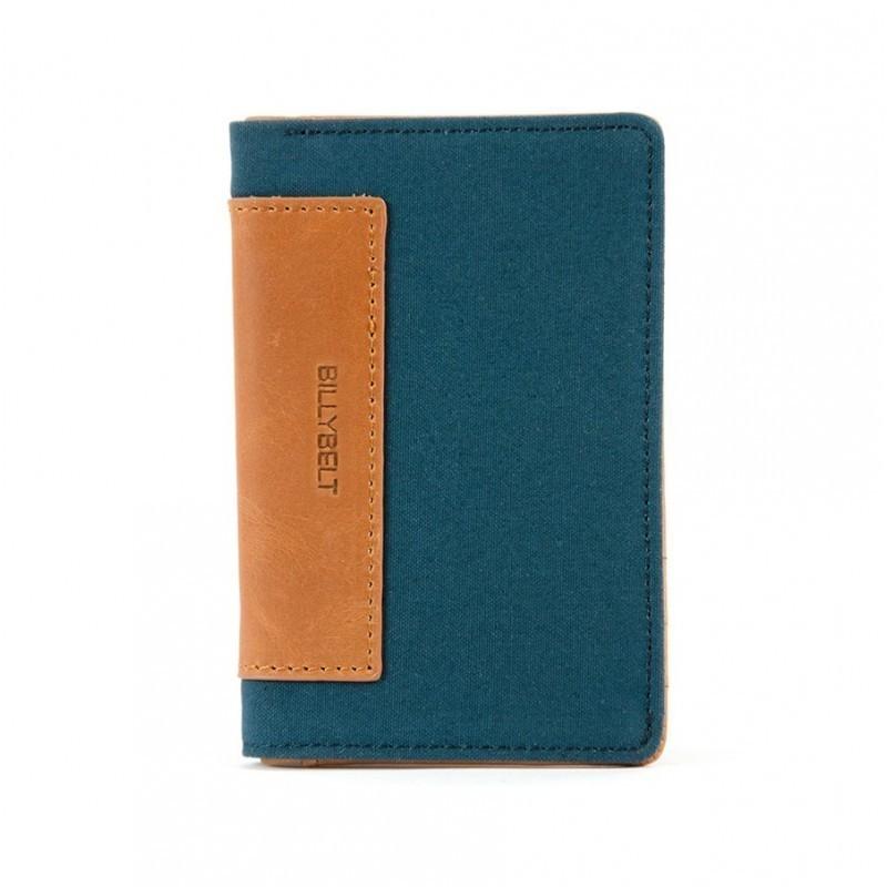 Porte-cartes homme Bleu canard