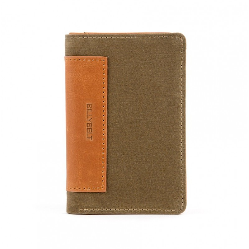 Beige card holder