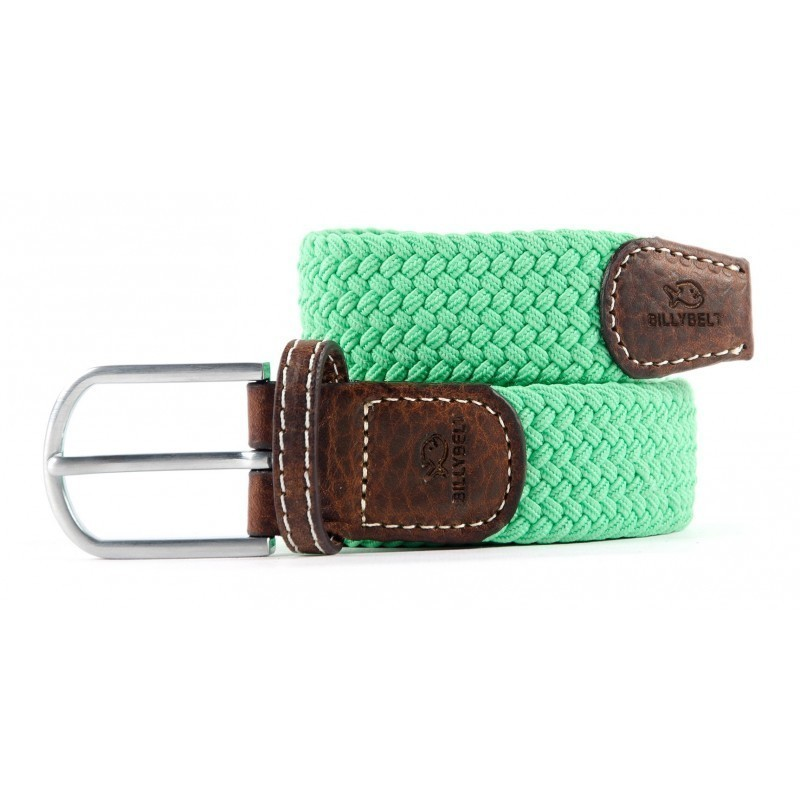 Green Mint braided belt