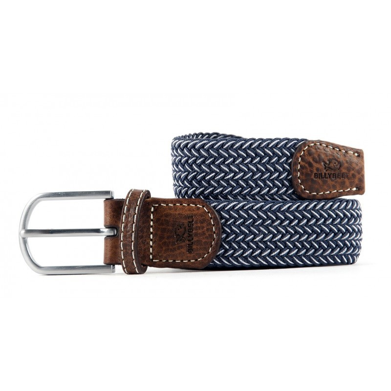 The Bogota braided belt for men