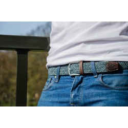 Tweed Club braided belt