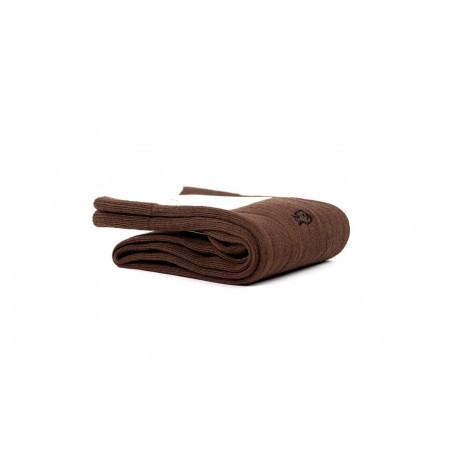 Chaussettes fil d'Écosse FE5 Marron Châtaigne