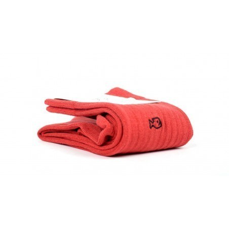 Chaussettes fil d'Écosse FE6 Rouge Grenade