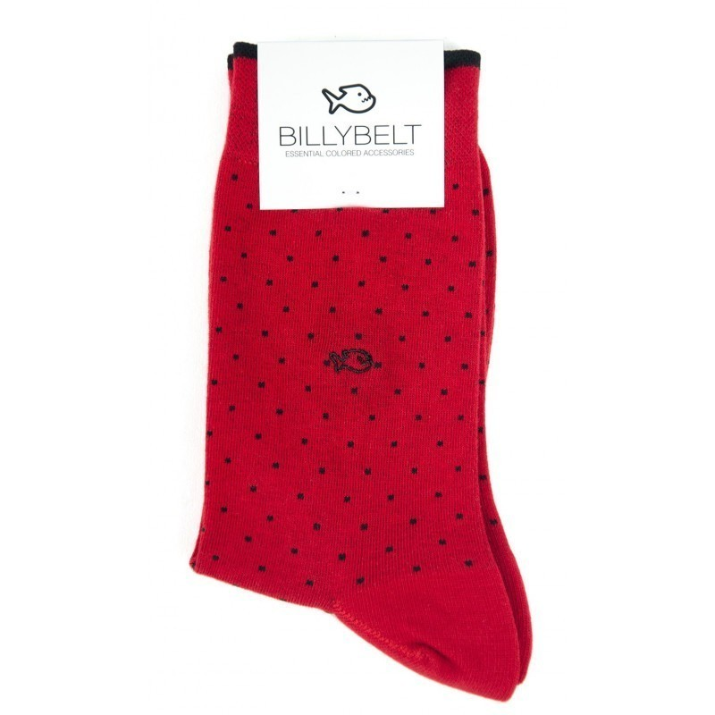 FA10 Men Socks Red Square