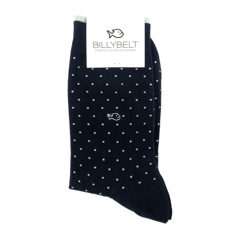 FA6 Men Socks Navy Square
