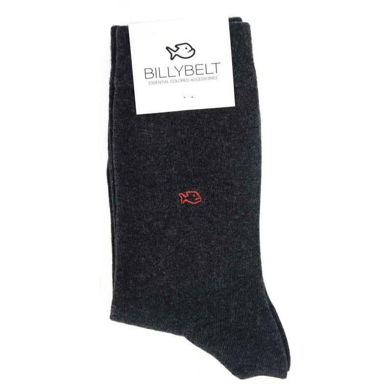 Men Grey Socks