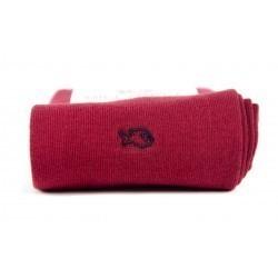 Chaussettes coton  Rouge Bordeaux