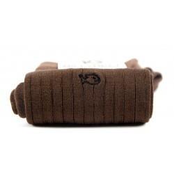Chaussettes fil d'Écosse  Marron Châtaigne