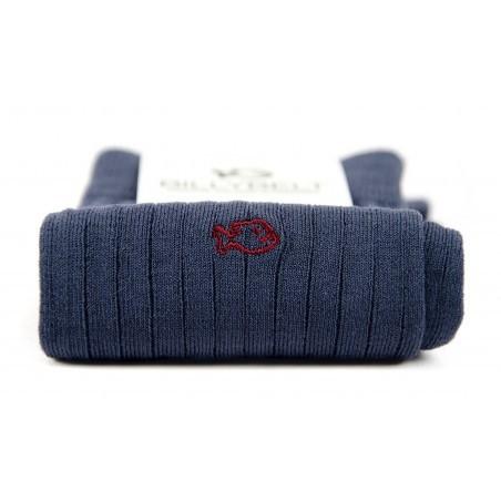 Chaussettes fil d'Écosse Gris Ardoise