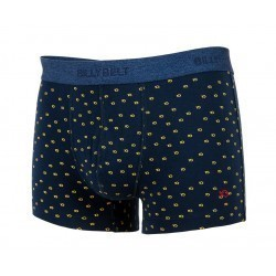 Boxer en coton biologique Blue Yellow