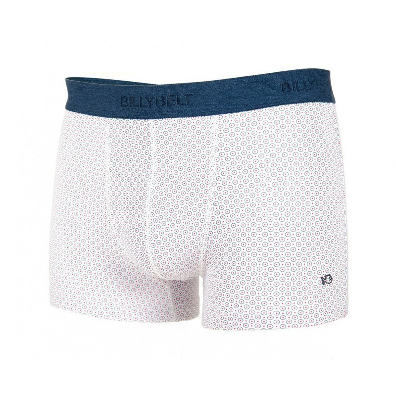Boxer brief in organic cotton white