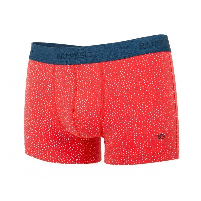 Boxer brief in organic cotton Red Sand